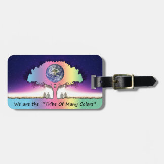 "Kofferanhänger ~ ""Tribe OF Many Colors "" Luggage Tag"