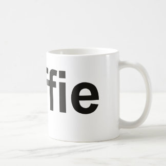koffie - Coffee in Dutch, black Coffee Mug