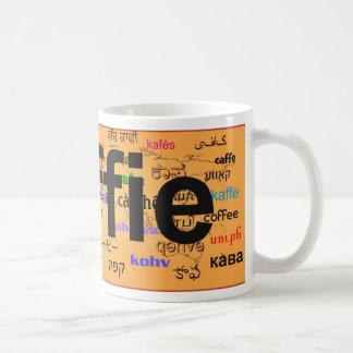 koffie - Coffee in Dutch, black. Map. Coffee Mug