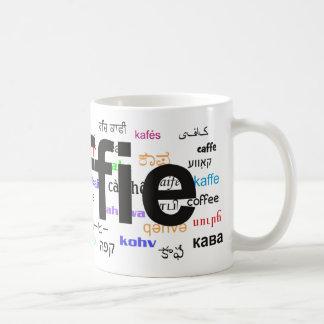 koffie - Coffee in Dutch, black. Multi. Coffee Mug