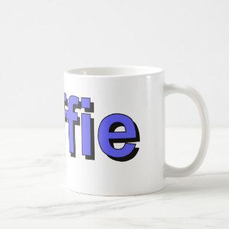 koffie - Coffee in Dutch, blue Coffee Mug