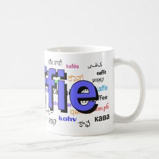 koffie - Coffee in Dutch, blue. Multi. Coffee Mug