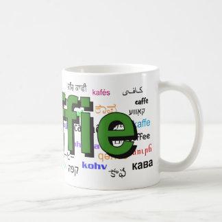 koffie - Coffee in Dutch, green. Multi. Coffee Mug