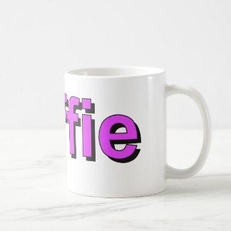 koffie - Coffee in Dutch, purple Coffee Mug