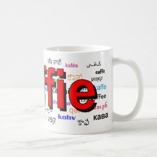 koffie - Coffee in Dutch, red. Multi. Coffee Mug