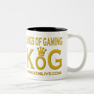 KoG Coffee Cup Two-Tone Coffee Mug