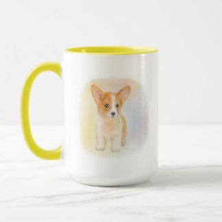 kogi puppy pastel mug