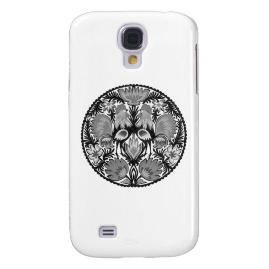 KOGUTY black and white Samsung Galaxy S4 Cover
