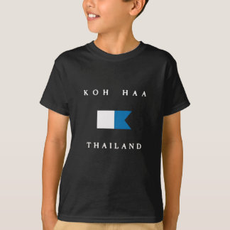 Koh Haa Thailand Alpha Dive Flag T-Shirt