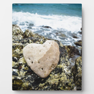 Koh Larn Island - Heart Photo Plaque