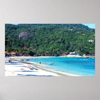 Koh Phangan Island Thailand Print