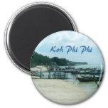Koh Phi Phi 2 Inch Round Magnet