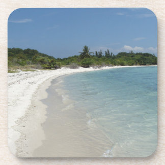 Koh Samui beach 2 Beverage Coaster
