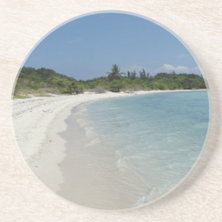 Koh Samui beach 2 Sandstone Coaster