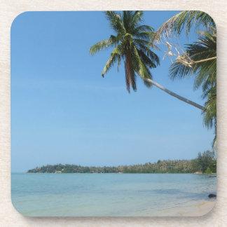 Koh Samui beach 3 Beverage Coaster