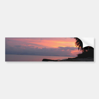 Koh Samui Ocean Sunset in Thailand Car Bumper Sticker