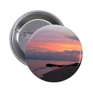Koh Samui Ocean Sunset in Thailand Pinback Button