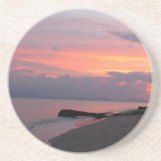 Koh Samui Ocean Sunset in Thailand Drink Coaster