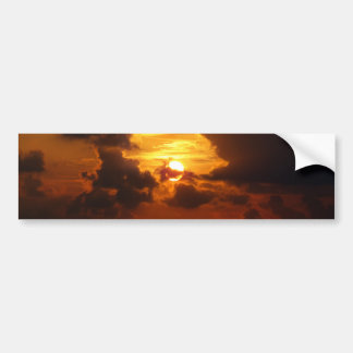 Koh Samui Sunrise in Thailand Car Bumper Sticker