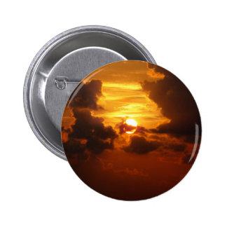 Koh Samui Sunrise in Thailand Pinback Buttons