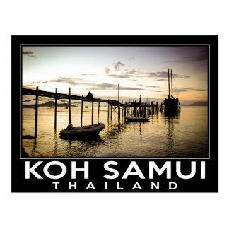 Koh Samui Thailand Postcard