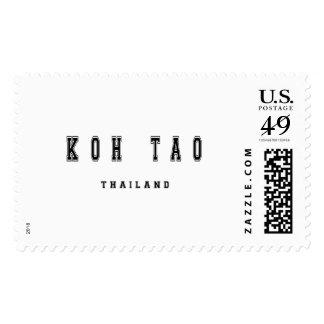 Koh Tao Thailand Postage