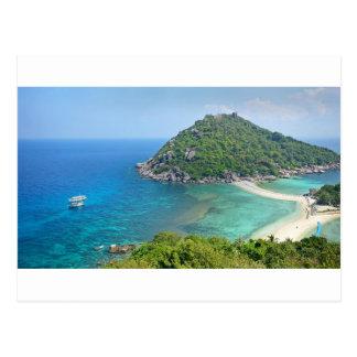 Koh Tao Thailand Postcard