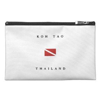 Koh Tao Thailand Scuba Dive Flag Travel Accessory Bag