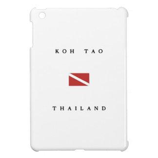 Koh Tao Thailand Scuba Dive Flag iPad Mini Cover