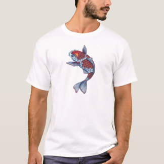 Kohaku Koi Fish T-Shirt