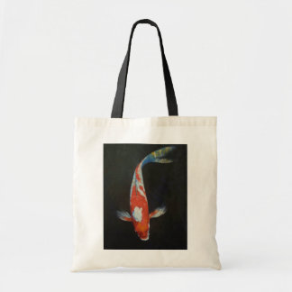 Kohaku Koi Fish Tote Bag