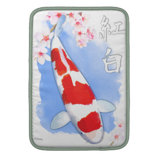 Kohaku koi MacBook air sleeve