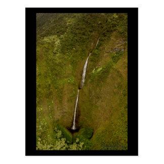 Kohala Valley Waterfalls - Hawaii Postcard