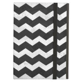 Kohl Black Chevron Pattern iPad Air Cover