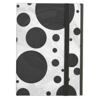Kohl Black Polka Dot Pattern Cover For iPad Air