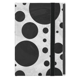 Kohl Black Polka Dot Pattern iPad Mini Covers