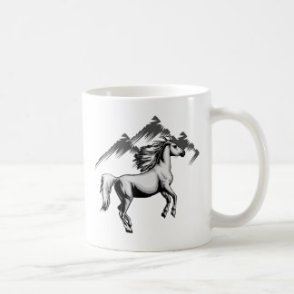 Kohl Colt Logo_BW NO Text Coffee Mug