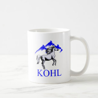 Kohl Colt Logo_Color and Text Coffee Mugs