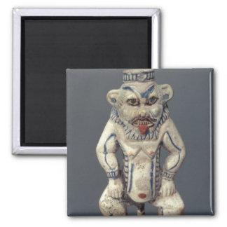 Kohl Pot, depicting the Egyptian household god Bes Magnet