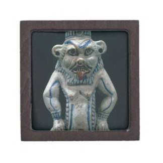 Kohl pot in the form of the god Bes, New Kingdom, Premium Gift Boxes