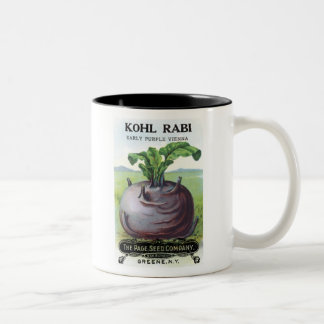 Kohl Rabi Early Purple Page Seed Co Coffee Mugs