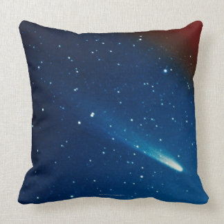 Kohoutek Comet Throw Pillow