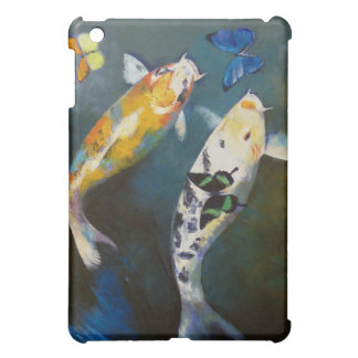 Koi and Butterflies iPad Case