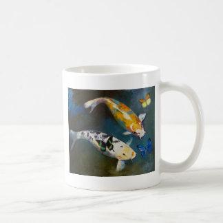 Koi and Butterflies Mug
