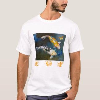 Koi and Butterflies T-Shirt