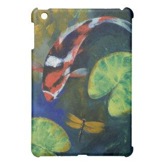 Koi and Dragonfly iPad Case