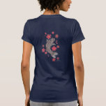 koi AND FLOWERS T Shirts