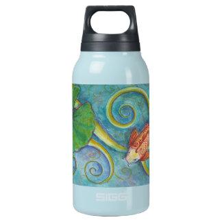 Koi and Lotus Bottle