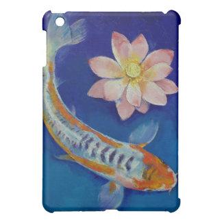 Koi and Lotus iPad Case
