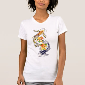 Koi and Orchids T-Shirt